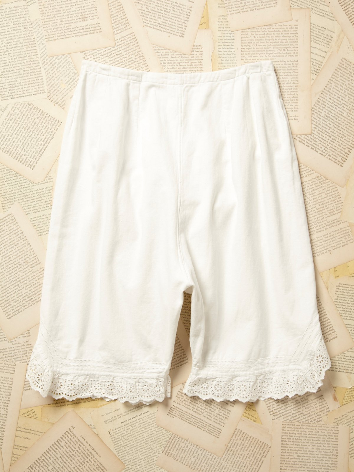 Vintage Victorian Cotton Bloomers