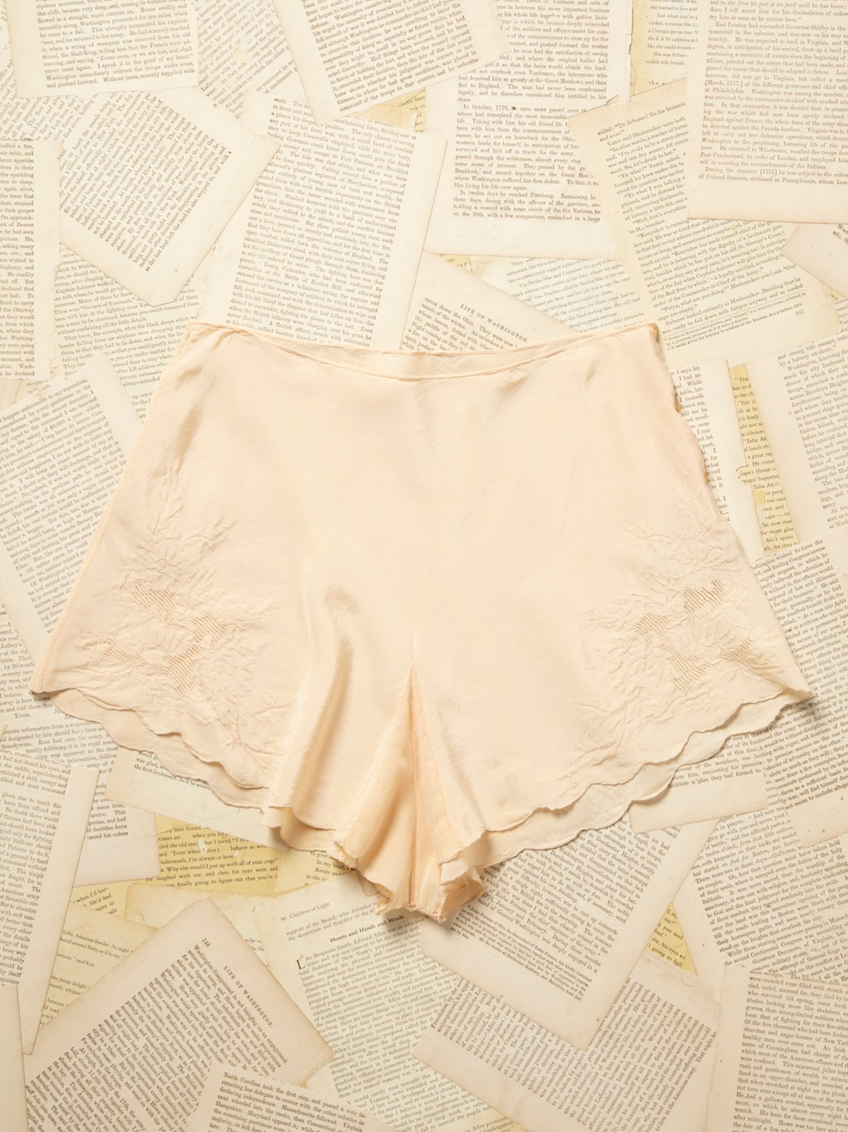 Vintage 1930s Silky Short