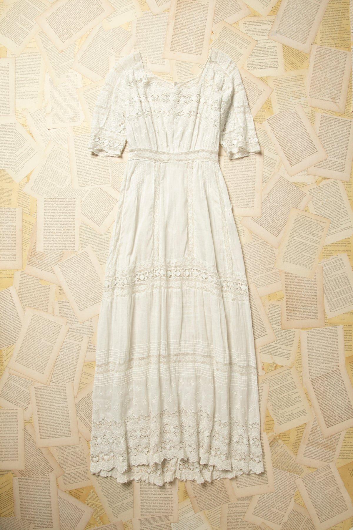 Vintage Victorian Lace Dress