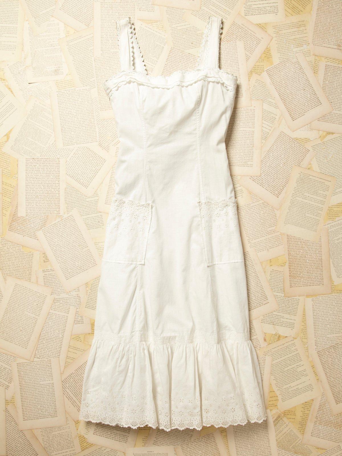 Vintage Victorian Cotton Dress