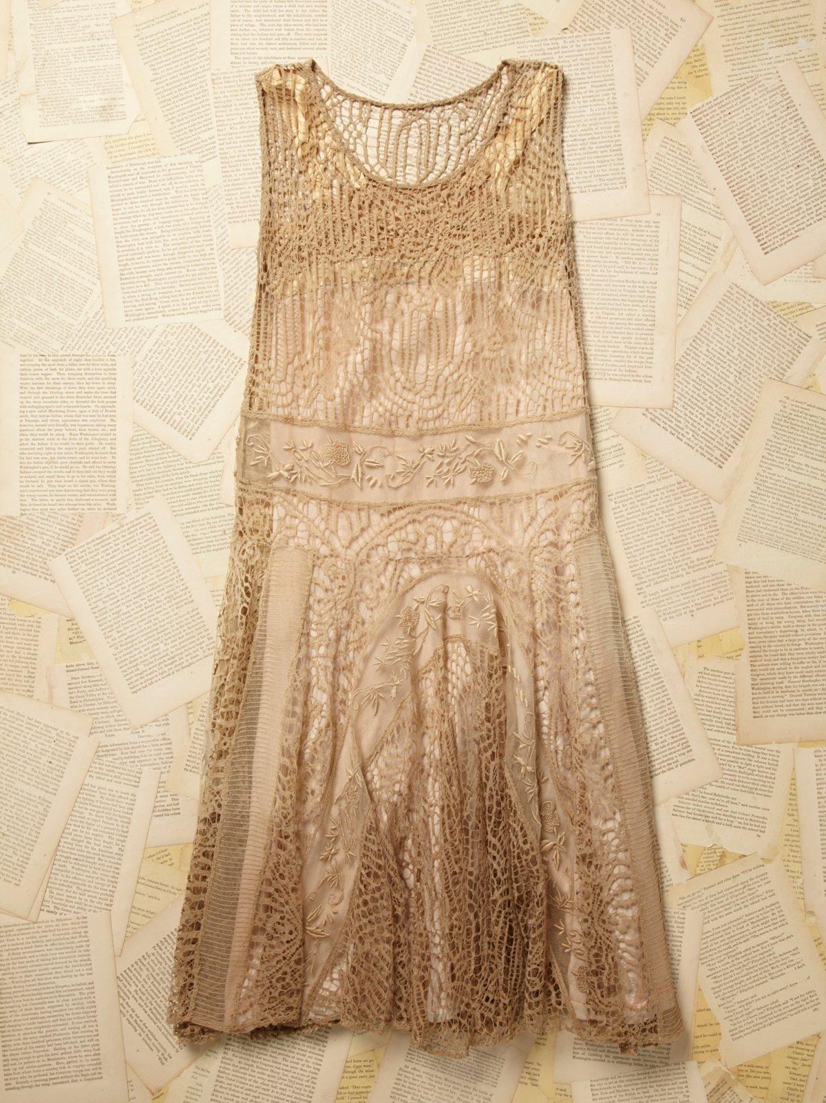 Vintage 1900s Lace Dress