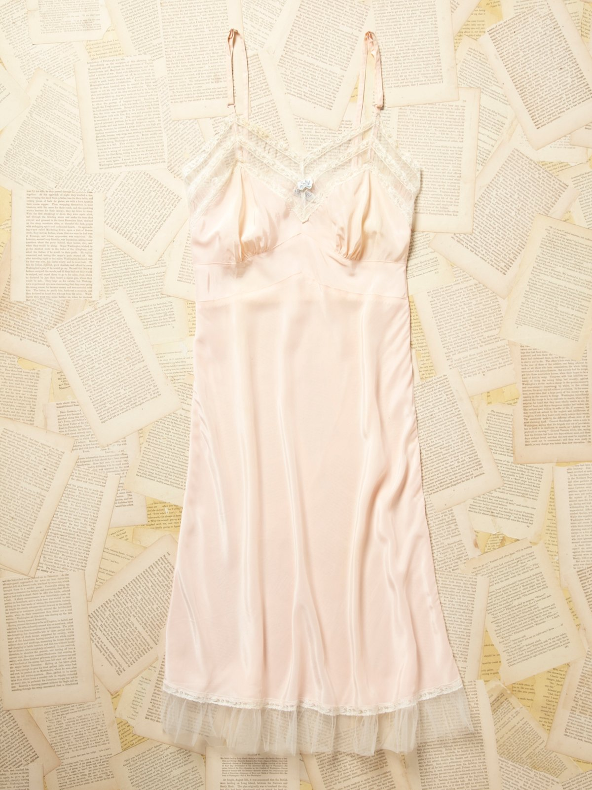 Vintage 1960s Silky Slip Dress