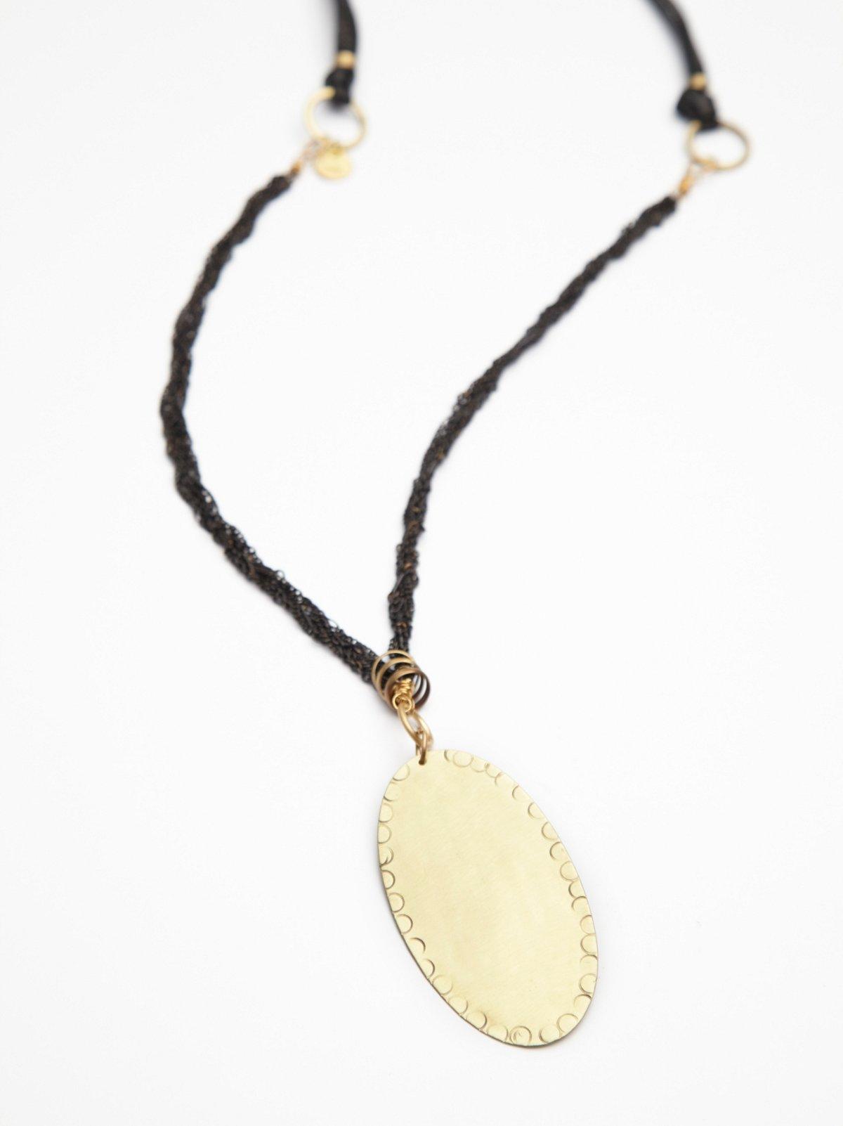 Braided Chain Pendant