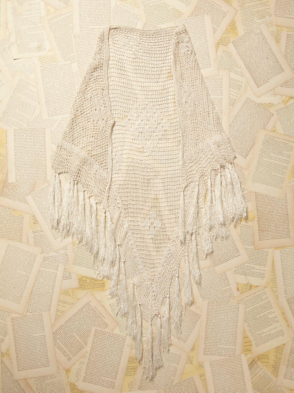 Vintage Crochet Shawl