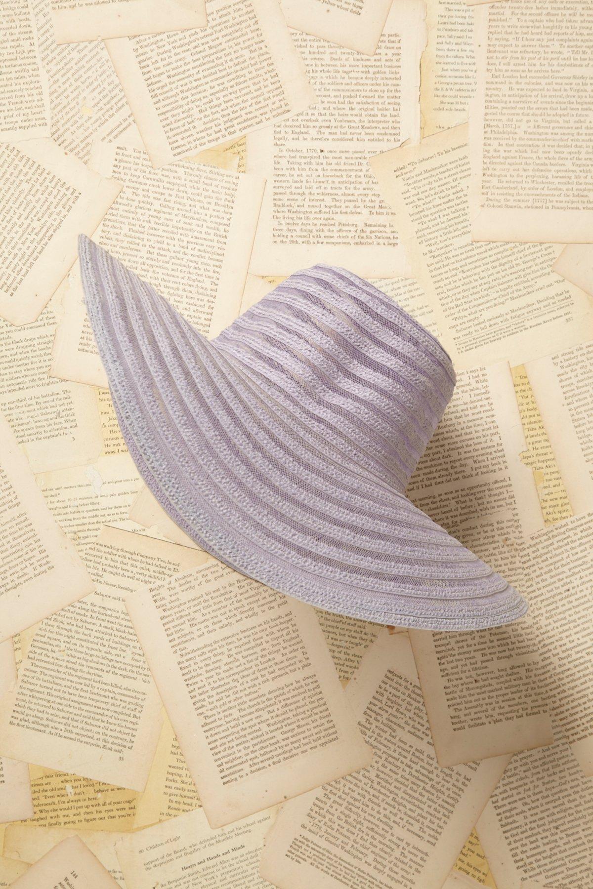 Vintage 1970s Straw Hat