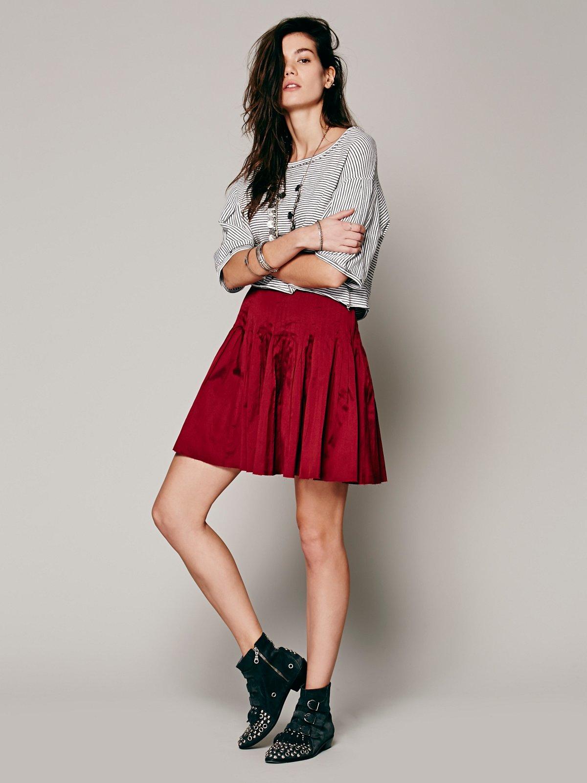 FP ONE Taffeta Mini Skirt
