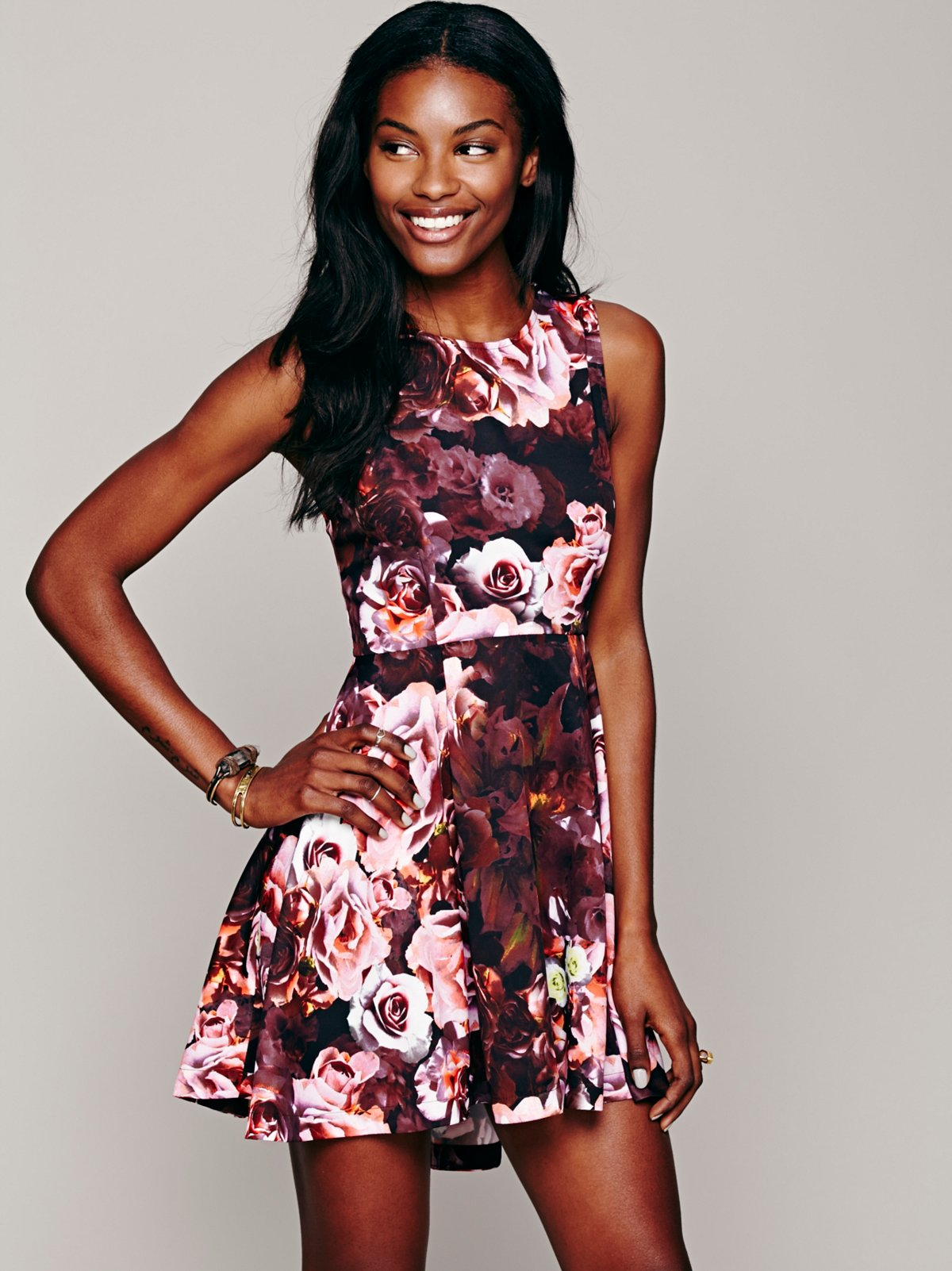 Flower Bomb Kick Out Dress