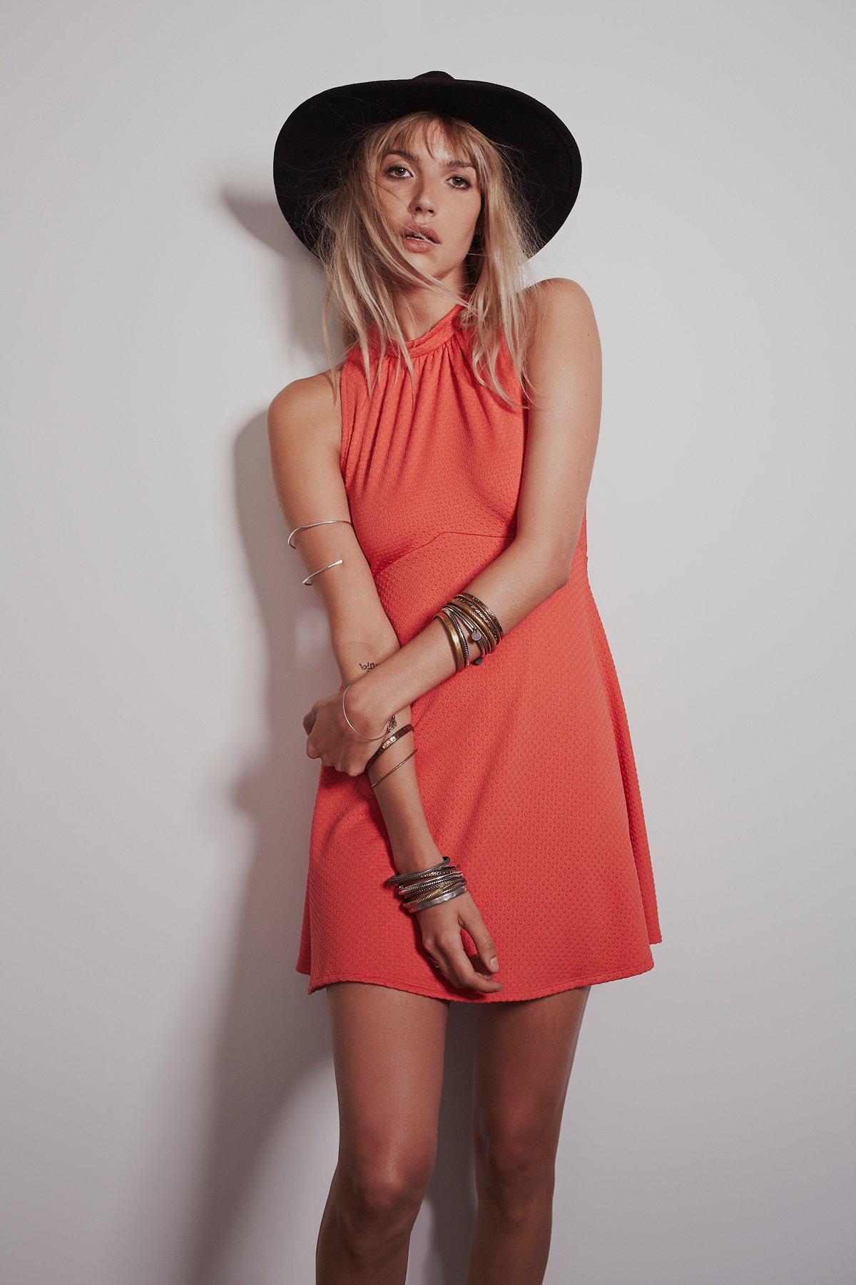 Miss Mod Mini Dress