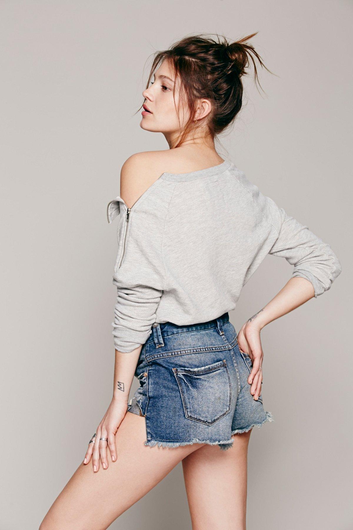 Cool Girl Zipper Pullover