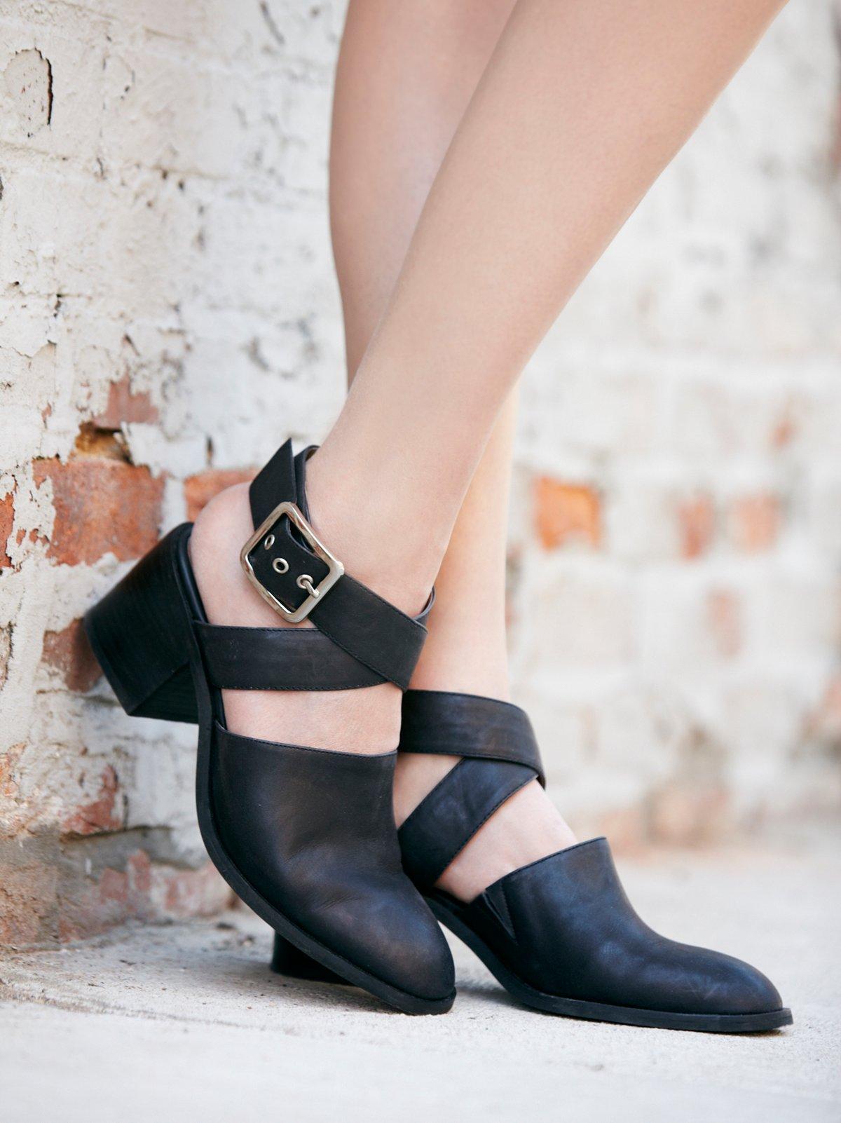 Blaine Block Heel