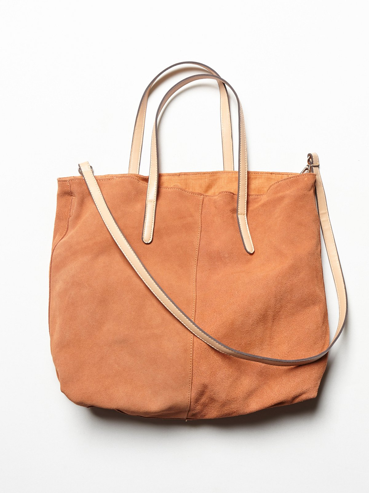 Slouchy Suede Tote