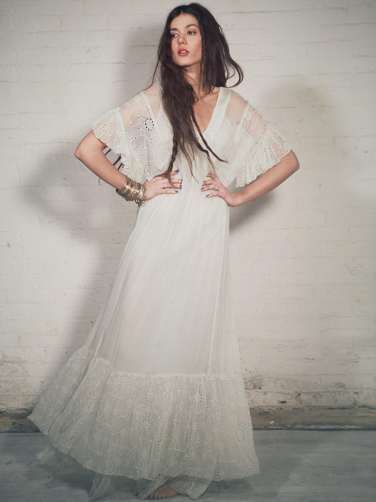 Aurore Eyelet Dress