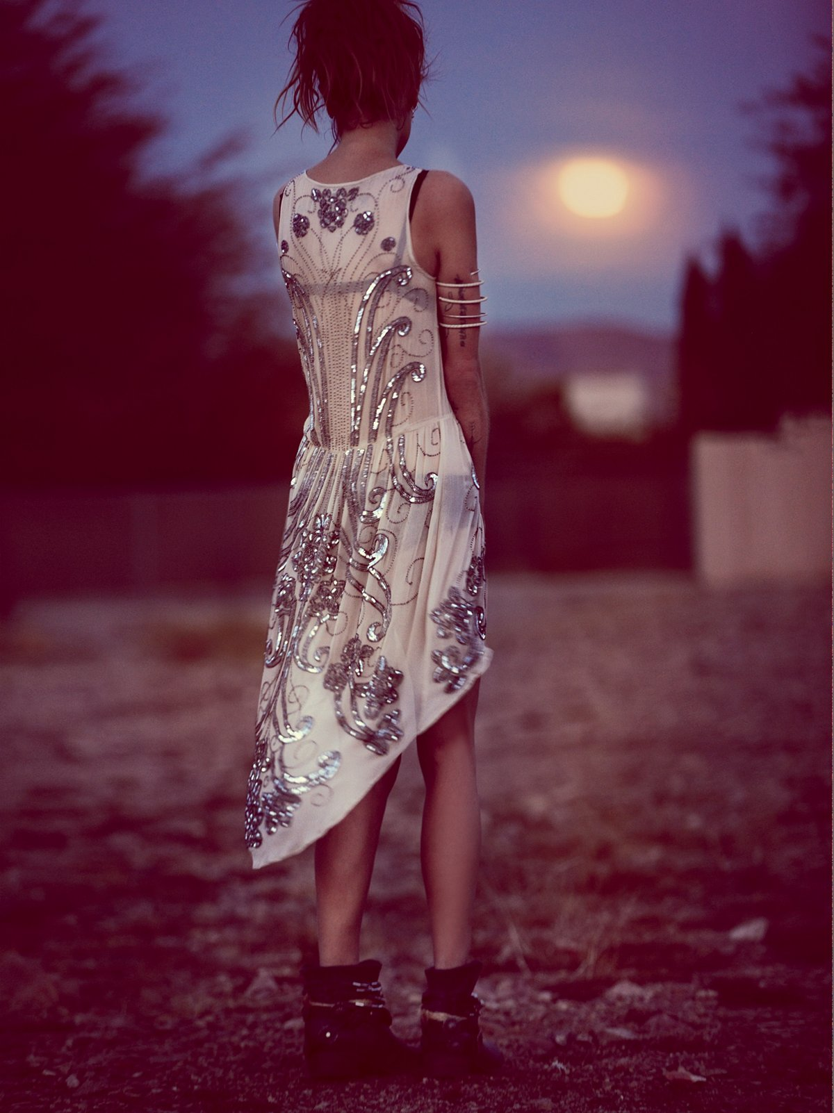 Spin Me Right Round Sequin Dress