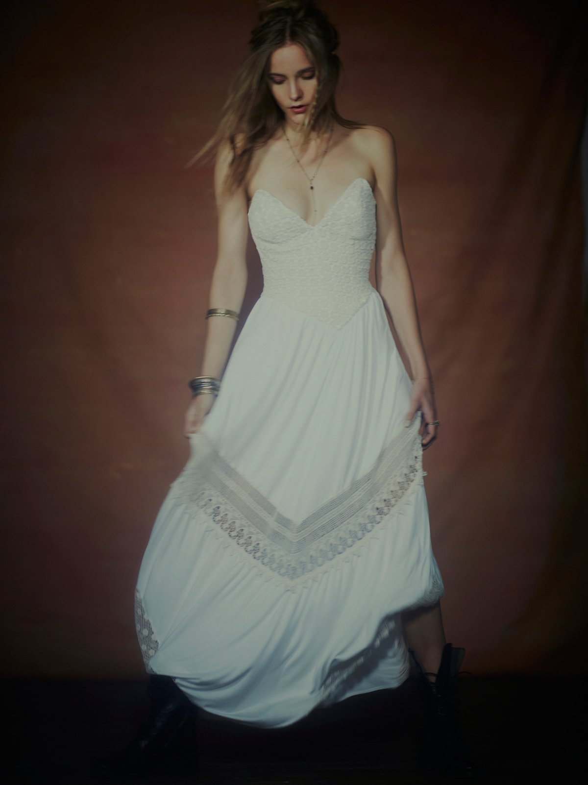 Limited Edition Babe Strapless Maxi