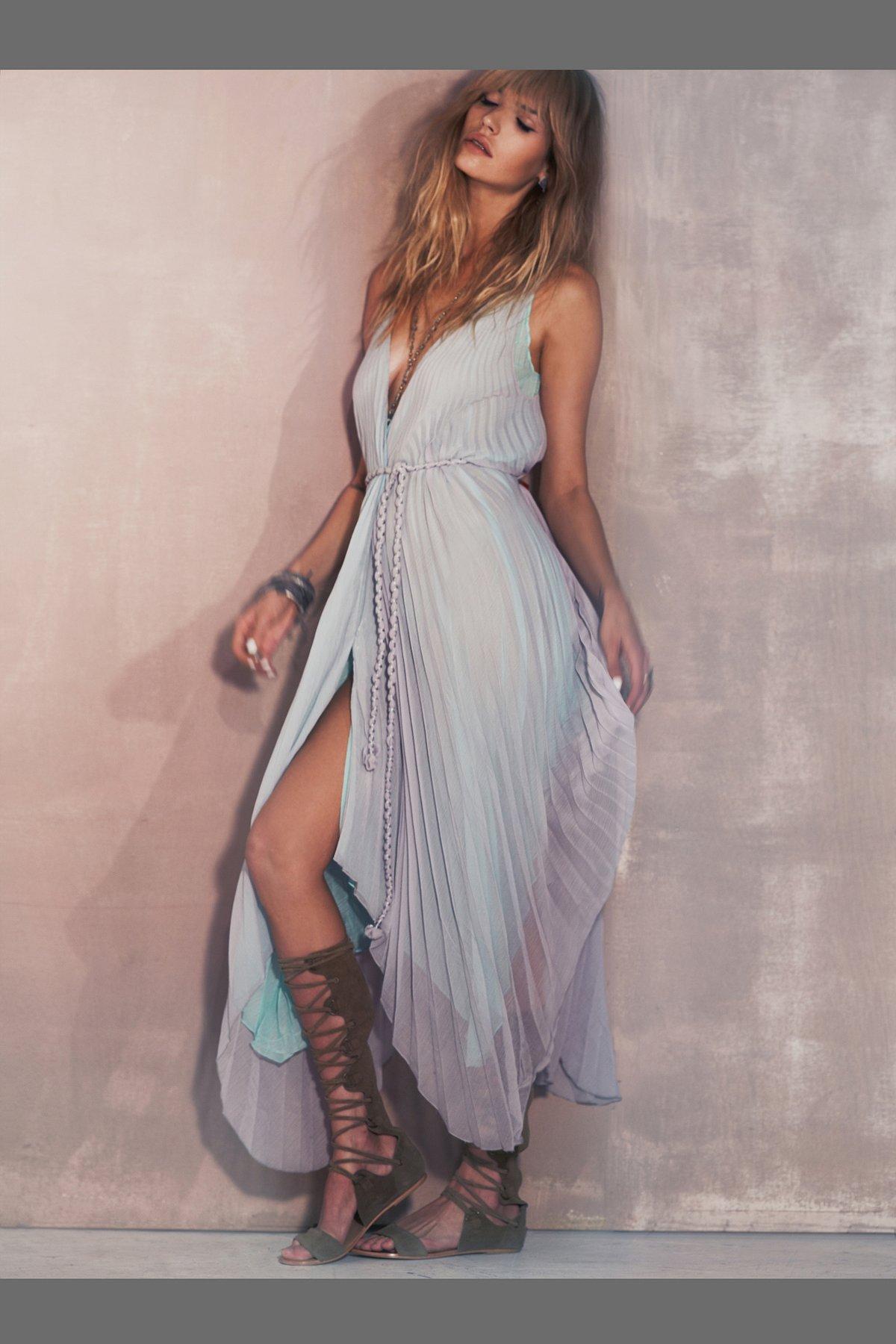 Kingsley Pleated Dress