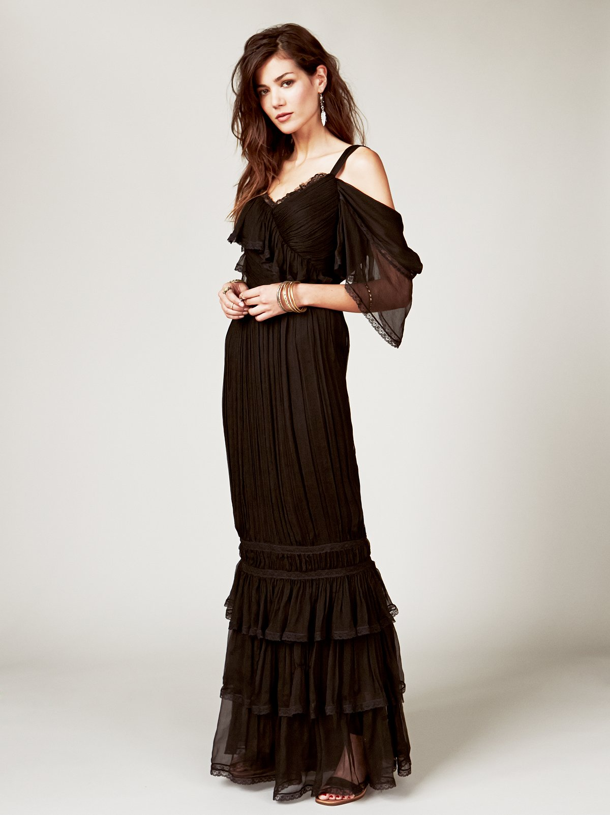 Annabella Silk Gown