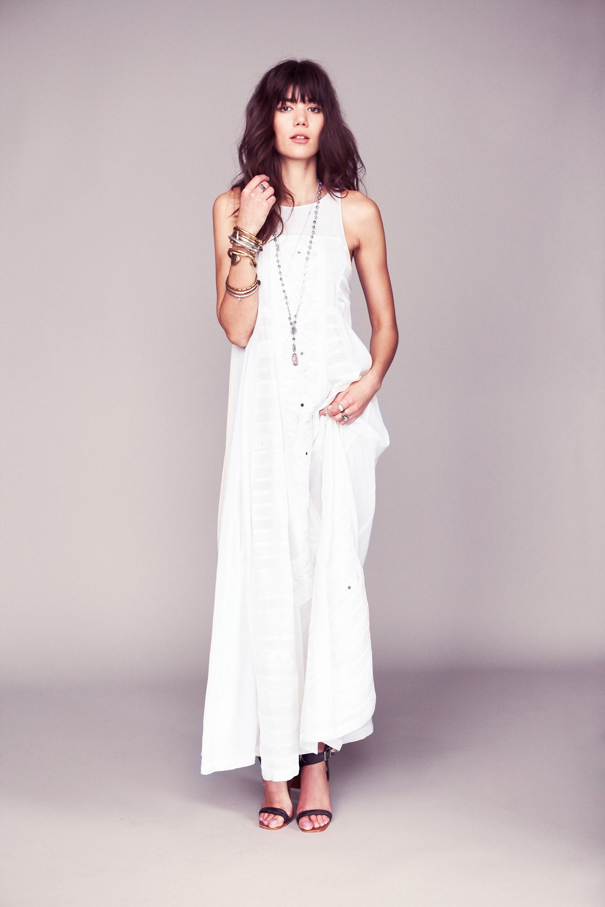 Kristin's White Story Dress
