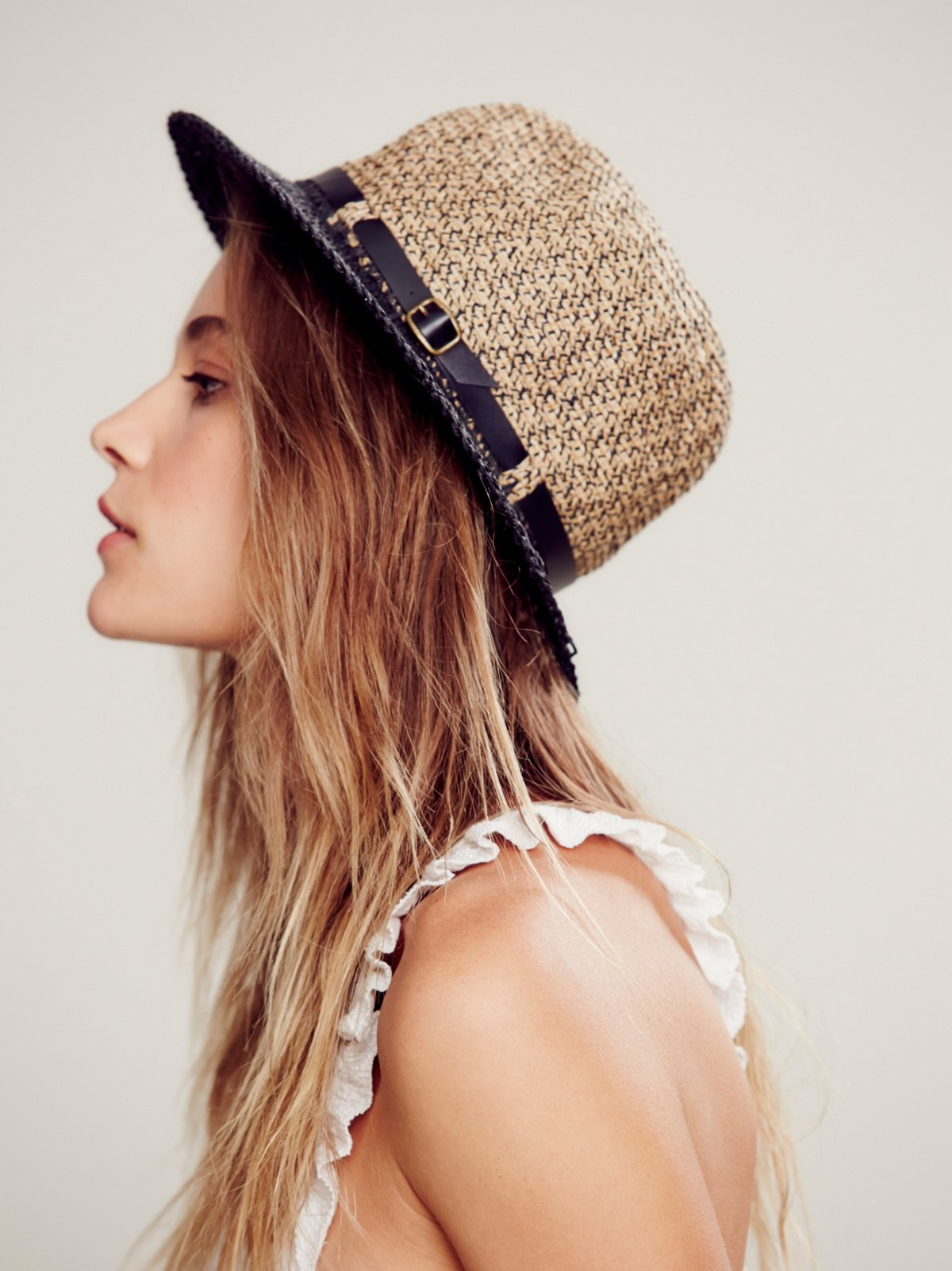 Del Mar Straw Hat