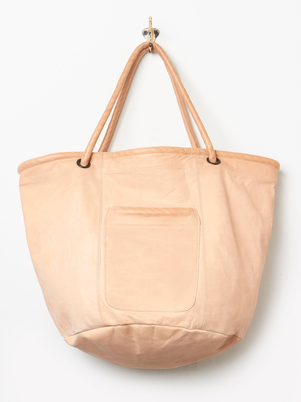 Leather Sailor Tote