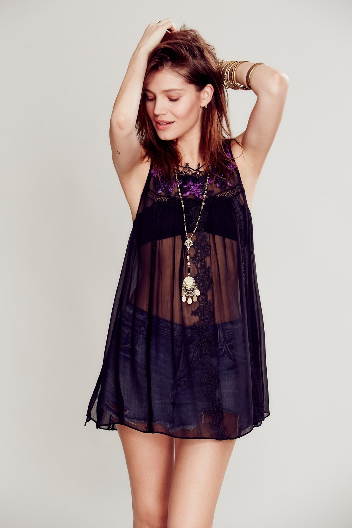 High Neck Candy Tunic