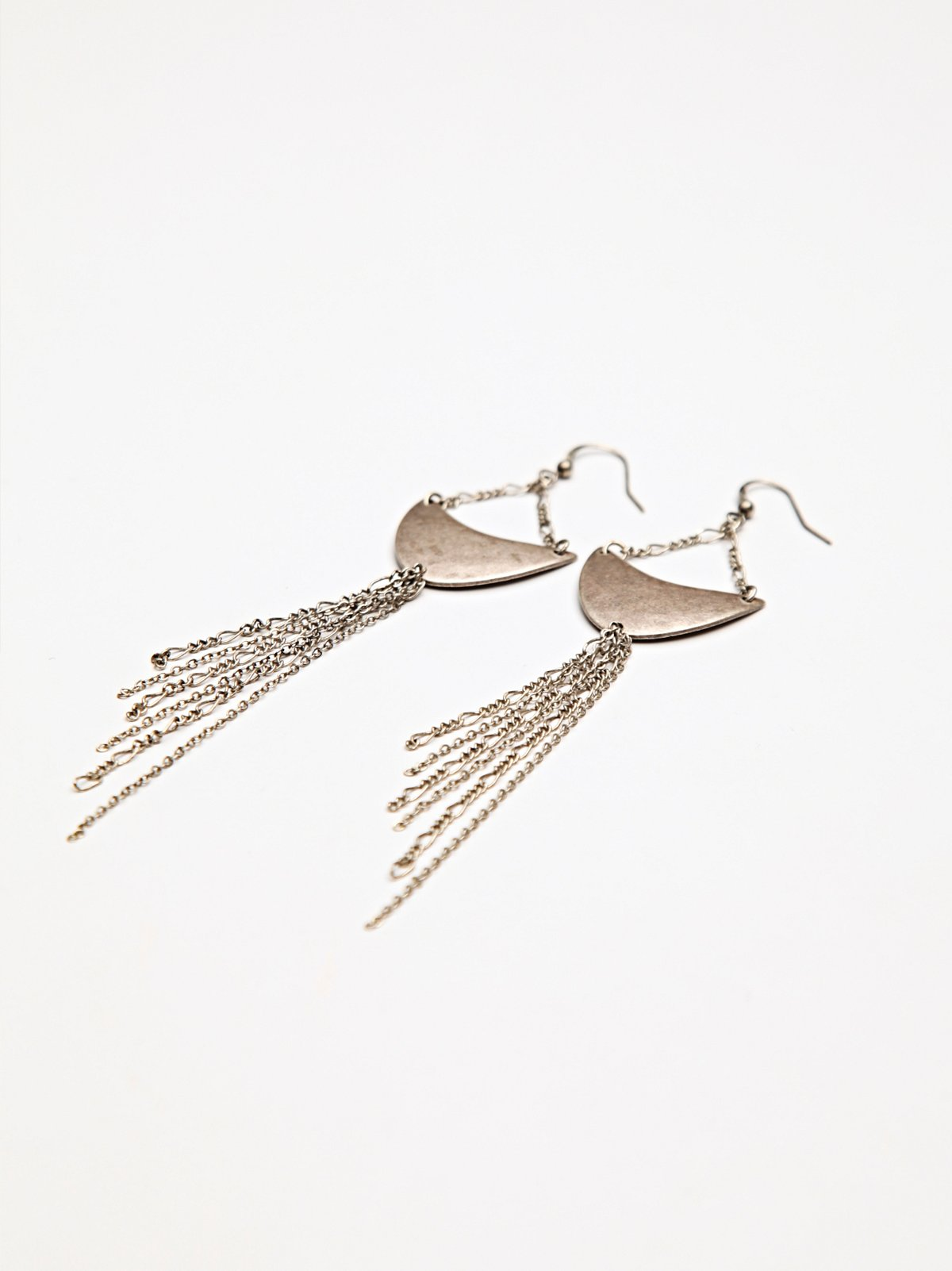 Crescent Drip Earring