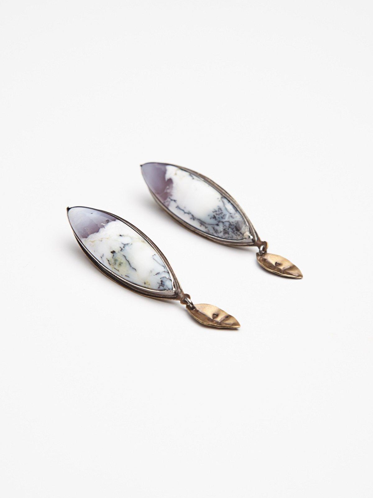 Runic Shield Earring
