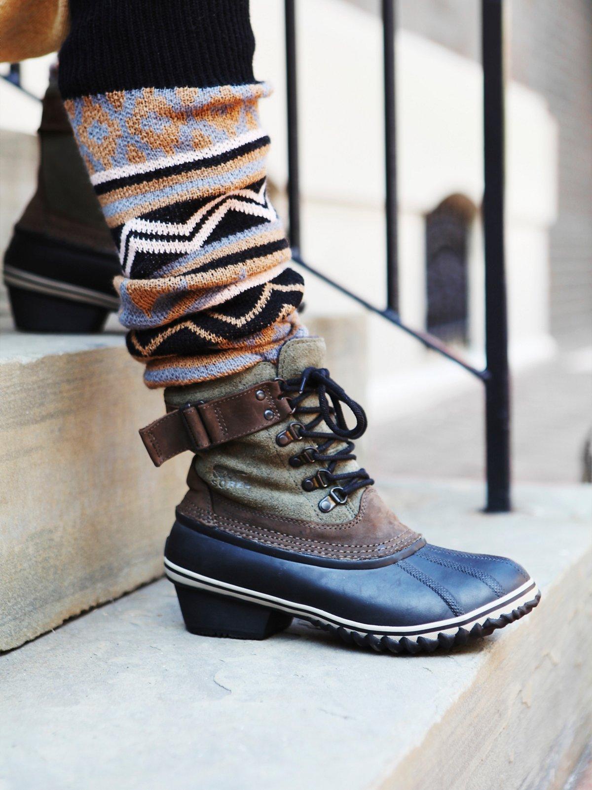 Winter Fancy Weather Boot