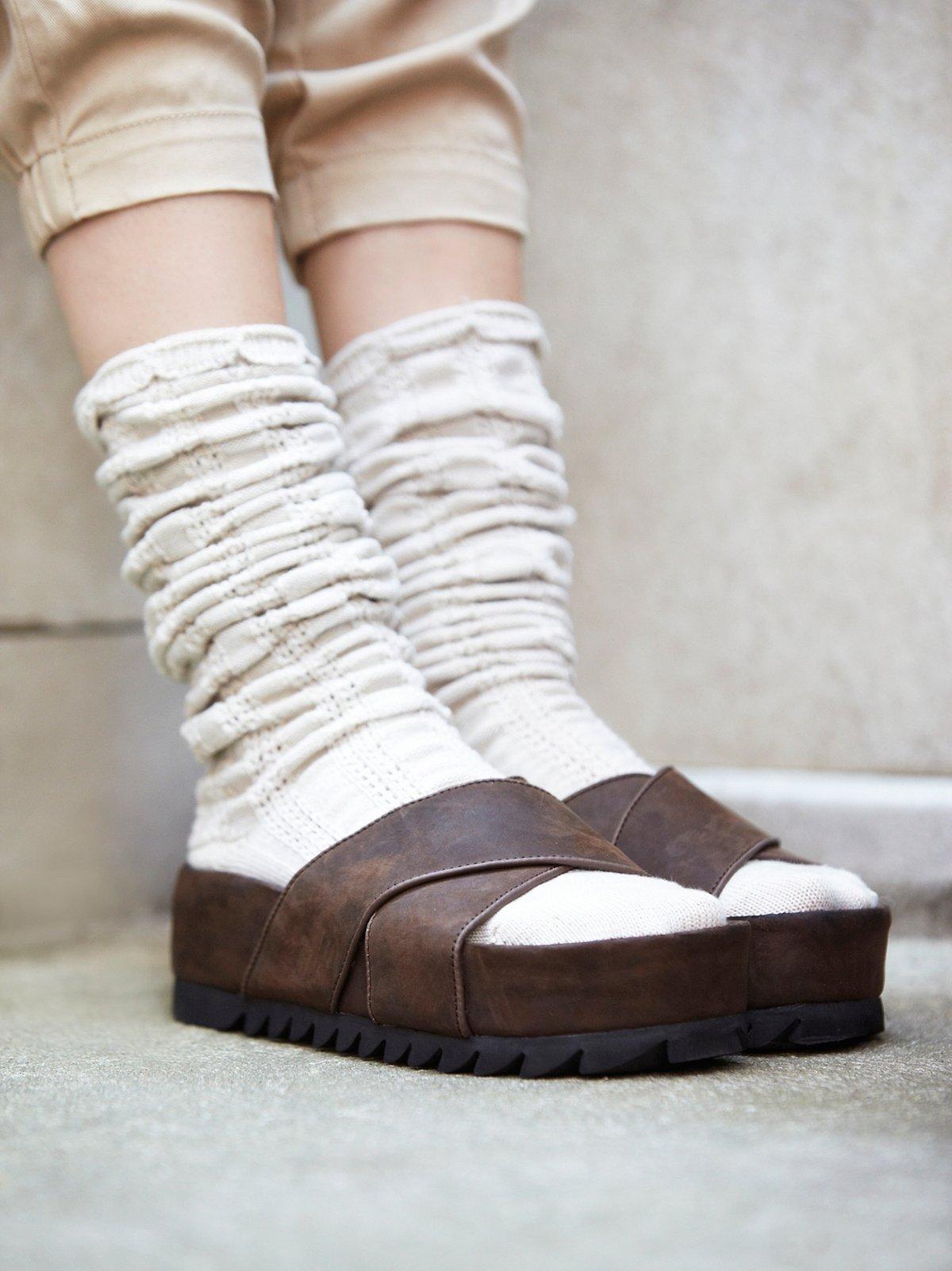 Menorca松糕懒人鞋