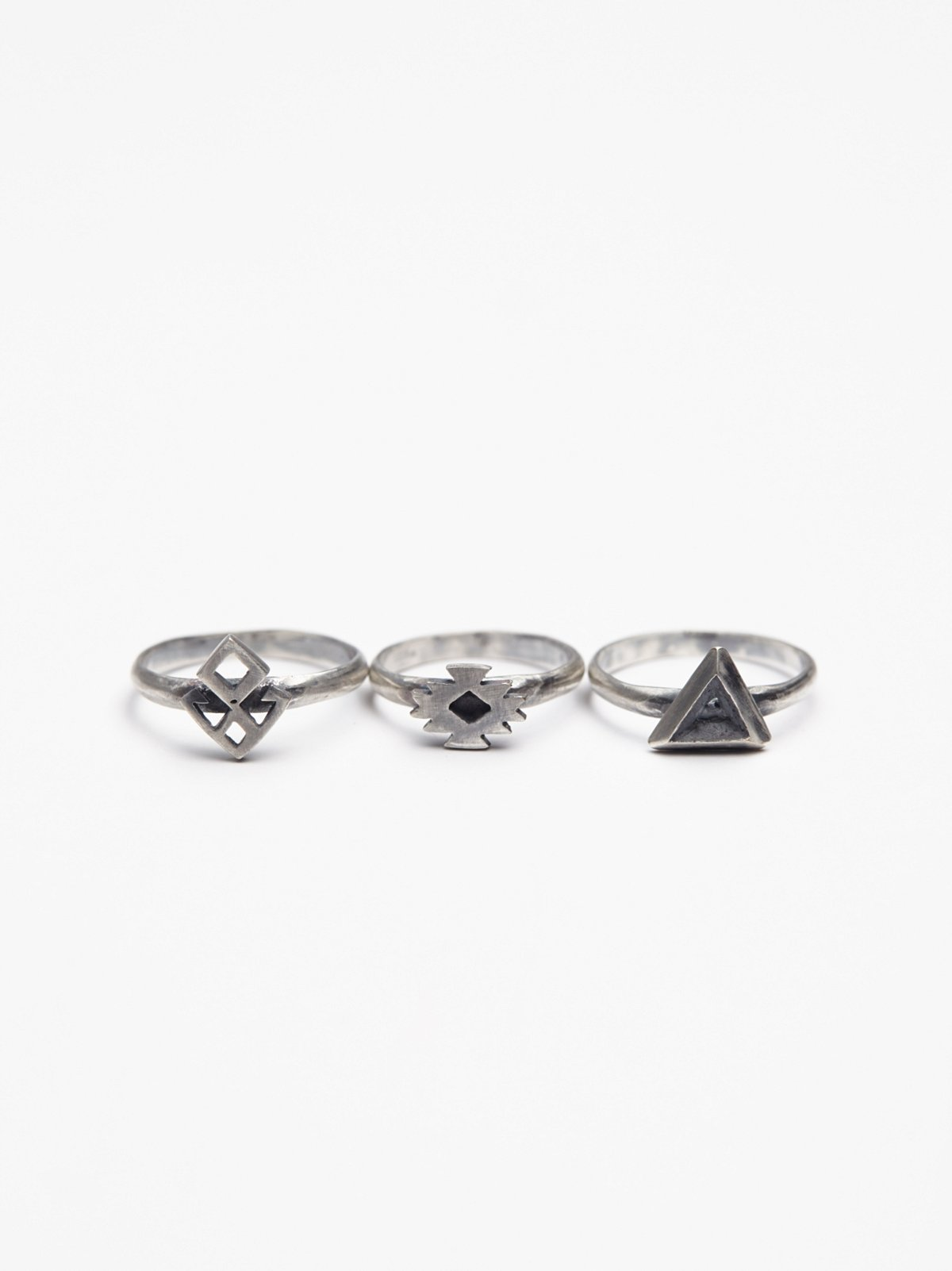 Nazar Midi Ring Set