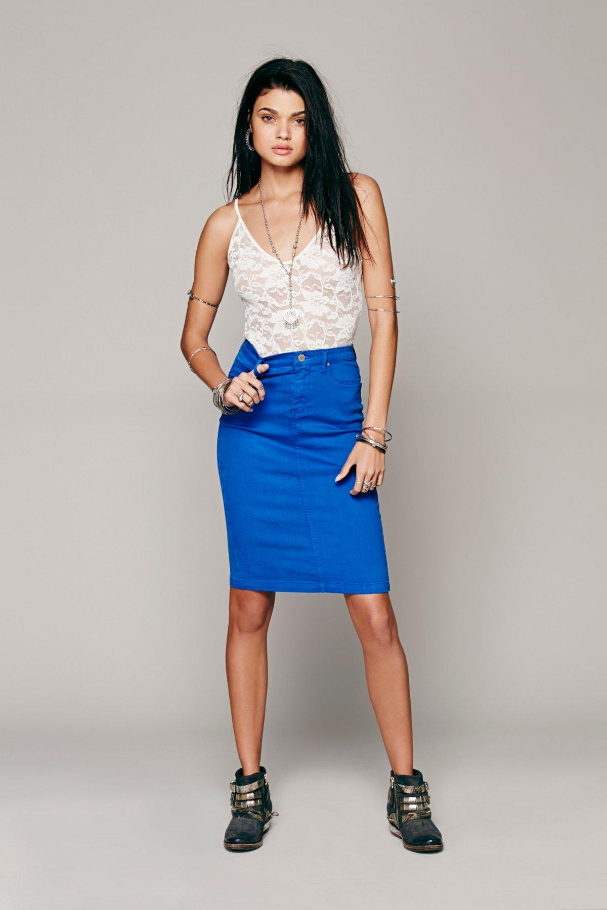 Faithful Denim Skirt