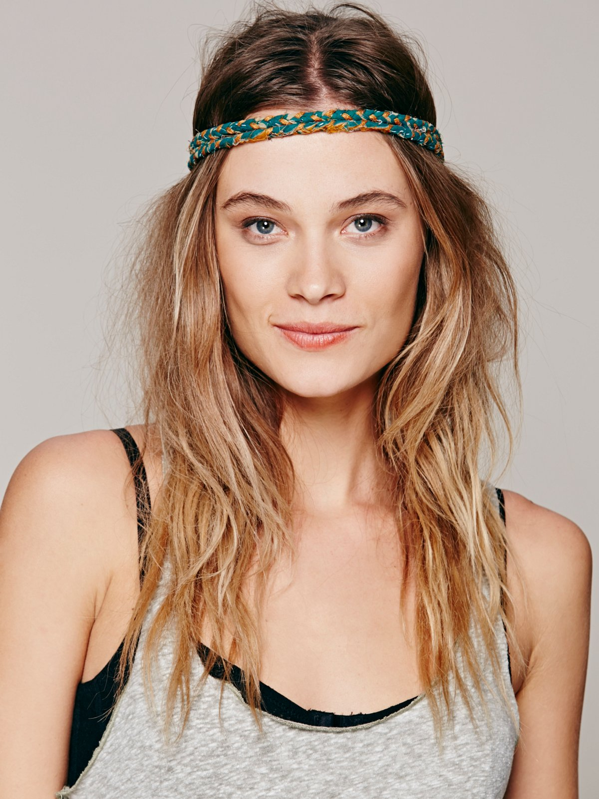 Kantha Double Braided Headband