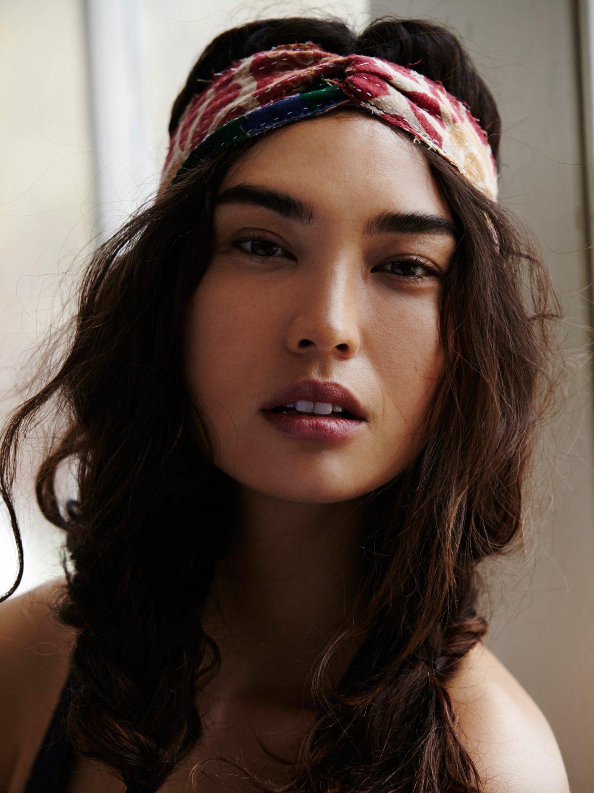 Kantha Crossover Headband