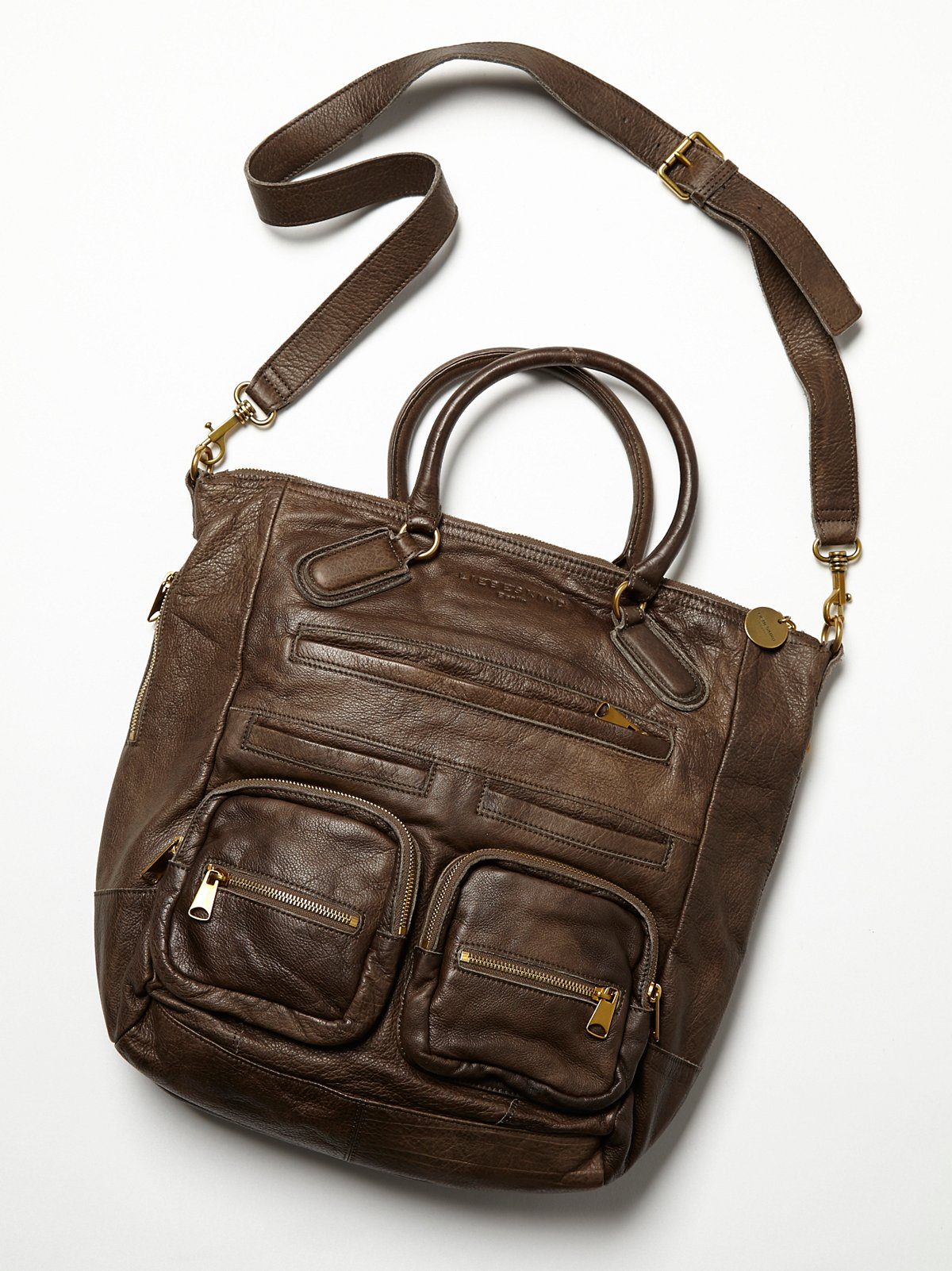 Distressed Amira Tote