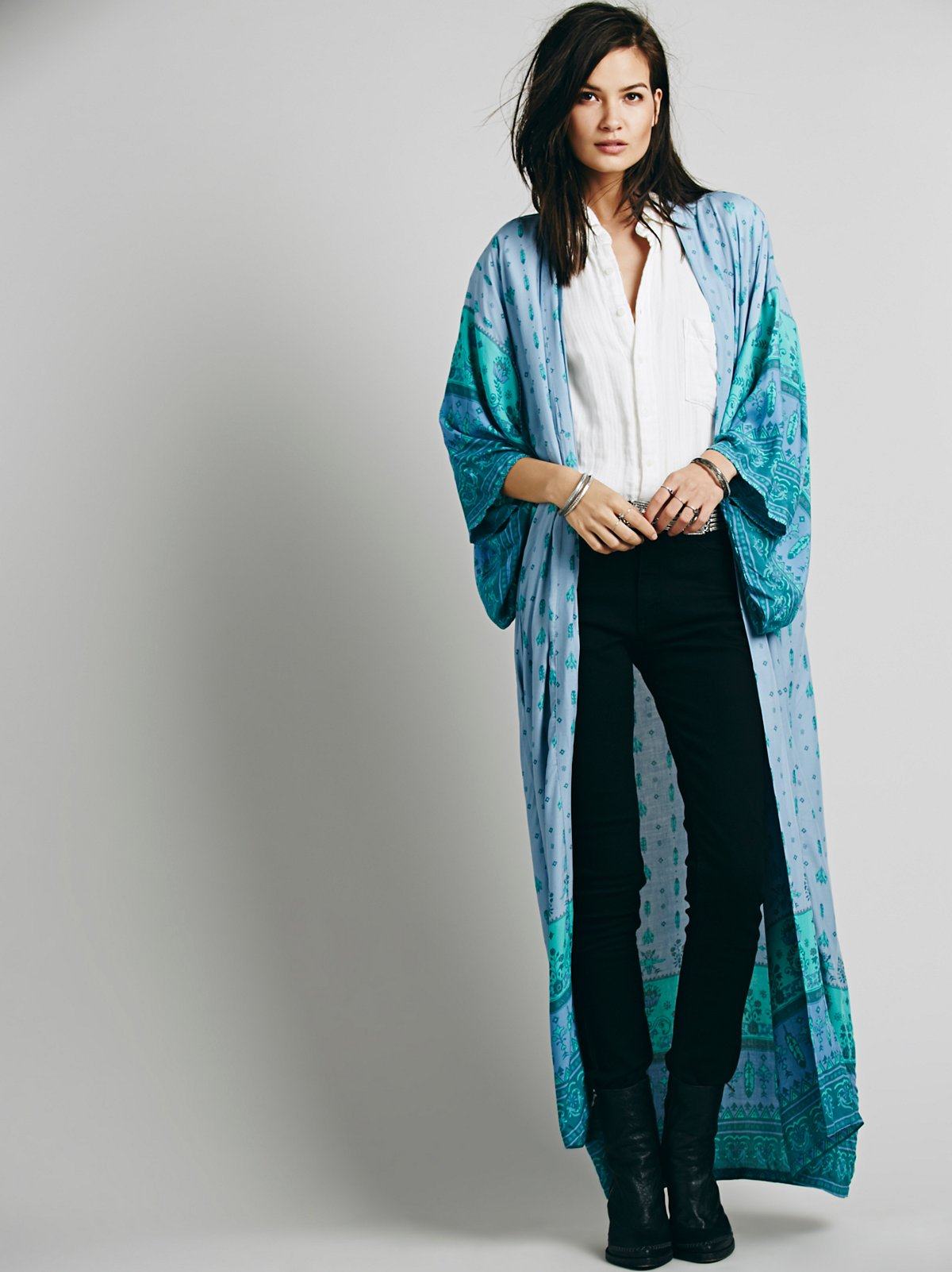 Desert Wanderer Maxi Kimono