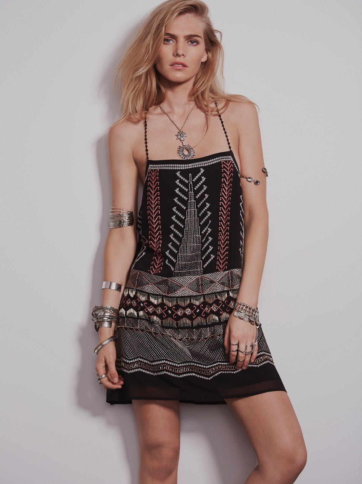 Terra Embellished Slip Dress