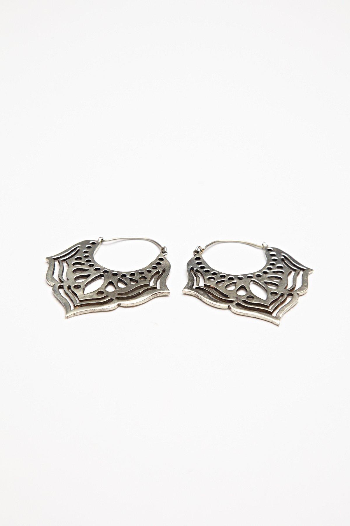Tribal Lotus Earring