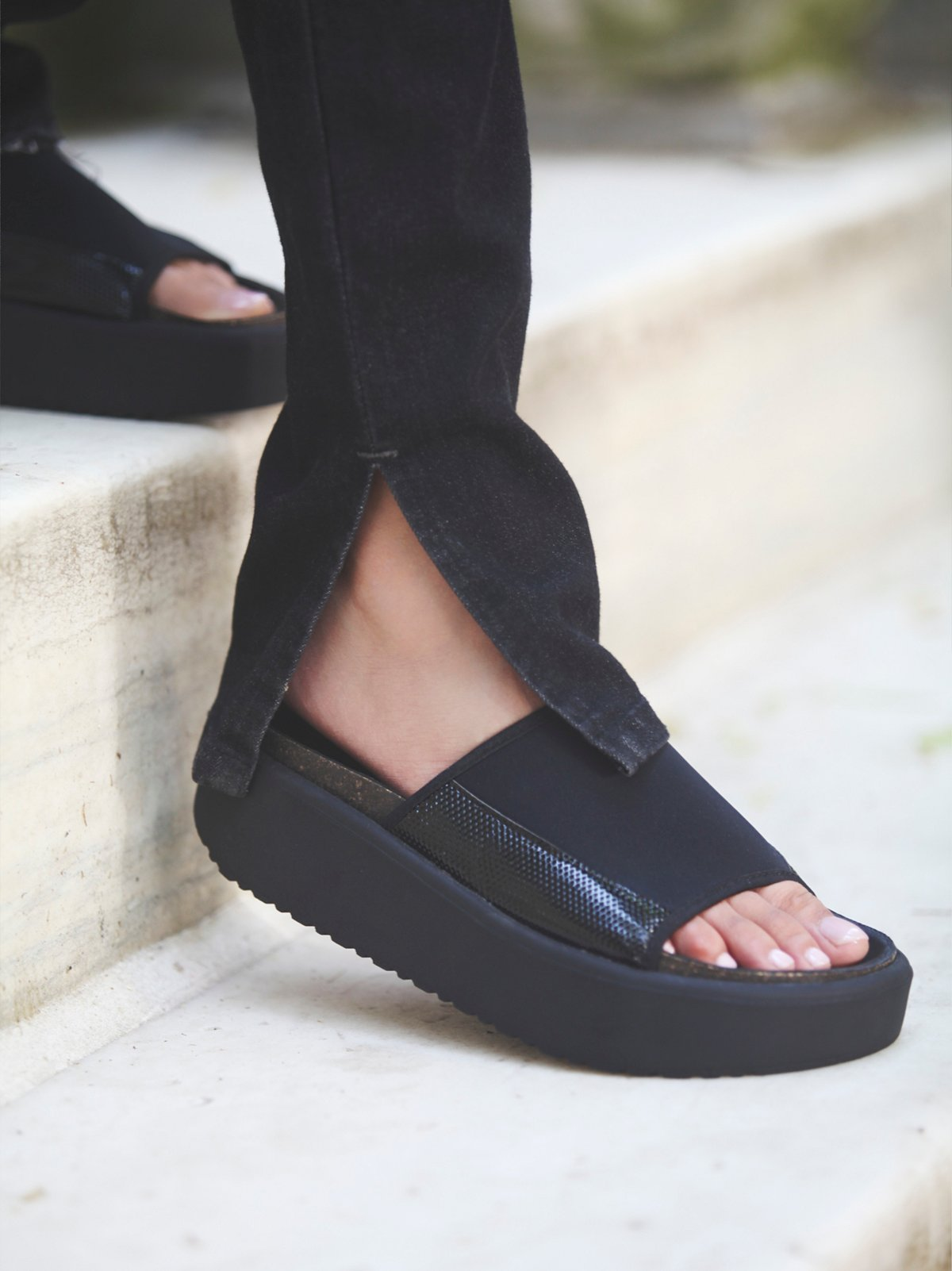 Metric Slip On Sandal