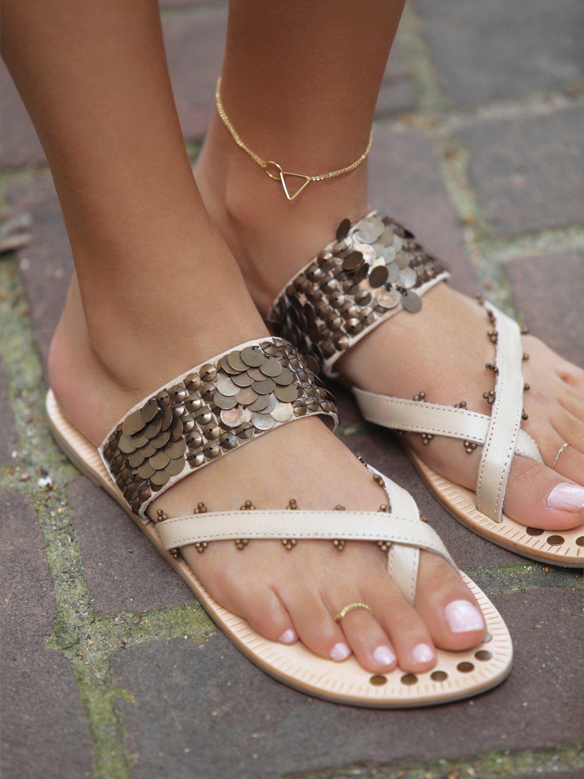 Slip on Charmer Sandal