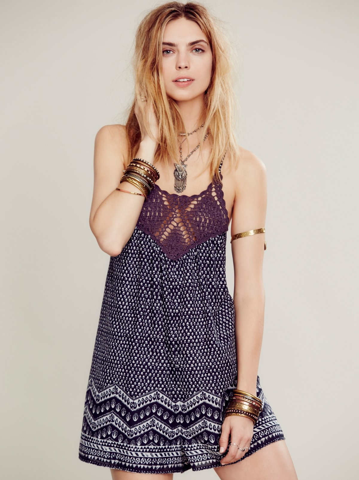 Dakota Printed Romper