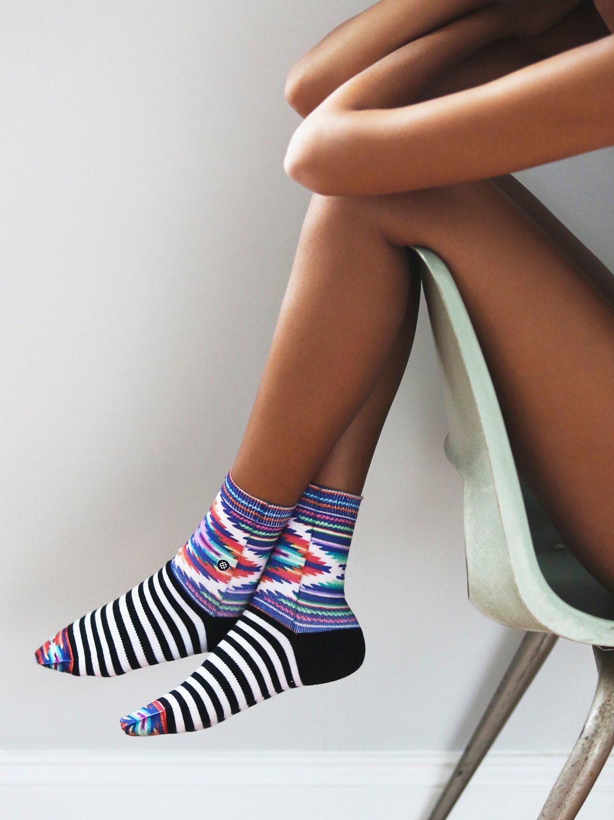 Wild Adobe Crew Sock