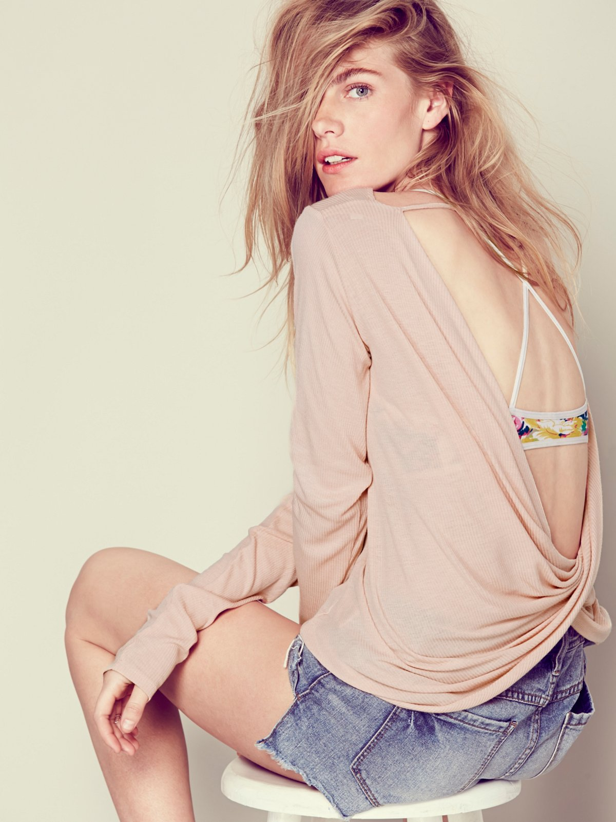 Ever After Twist Back Top
