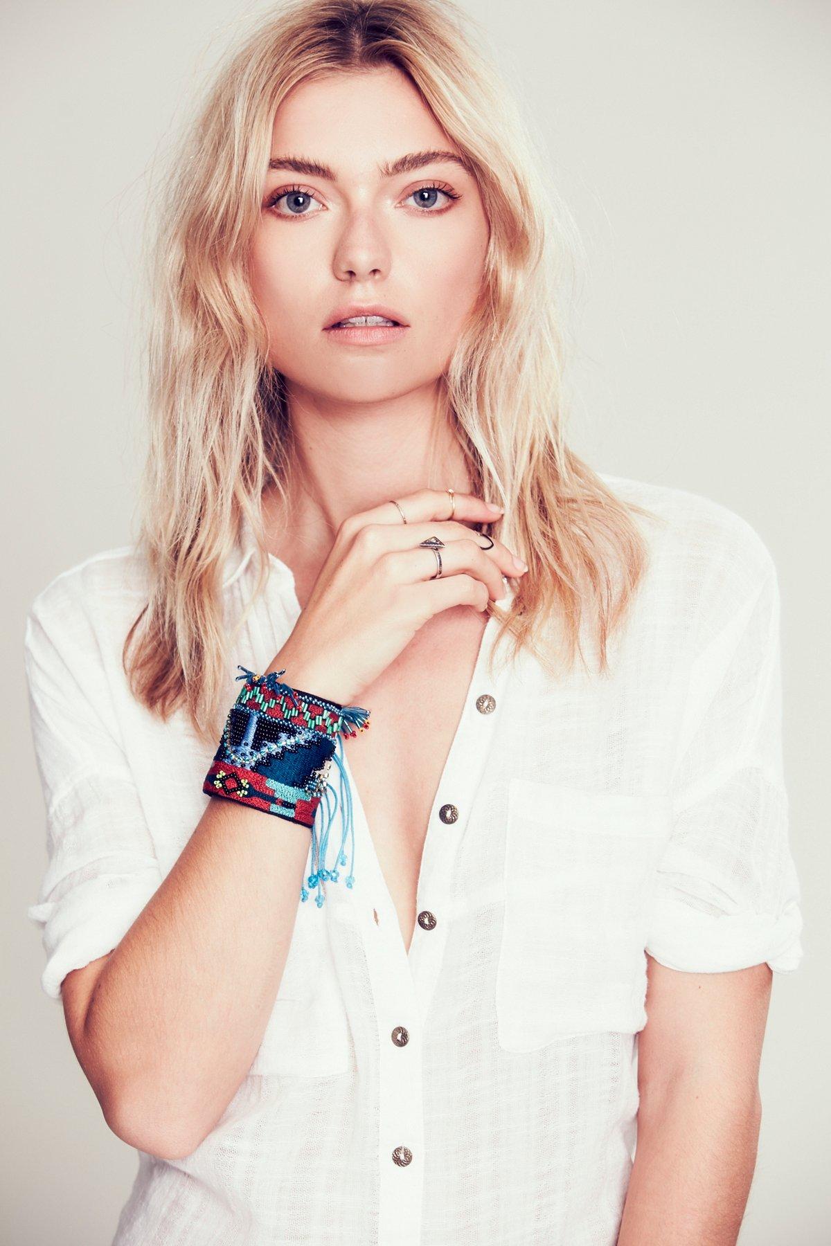 Luxe Beaded Armband