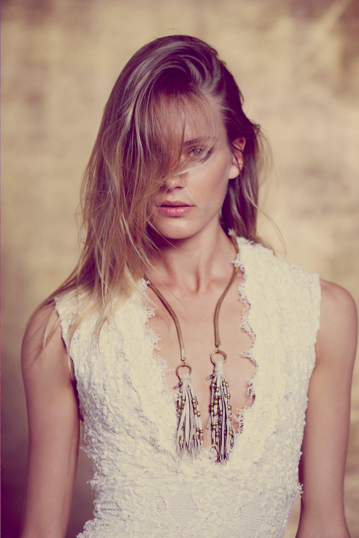 Leather Tassel Collar