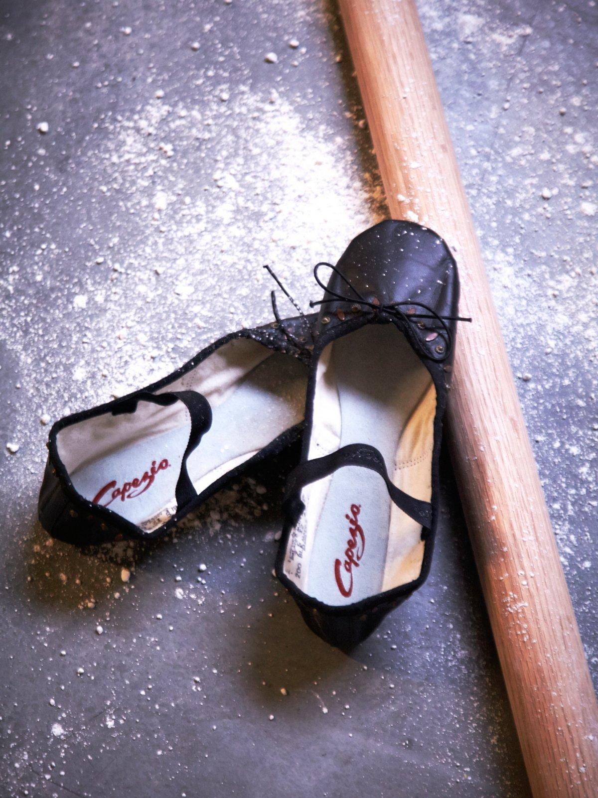 Devant Leather Ballet Slipper