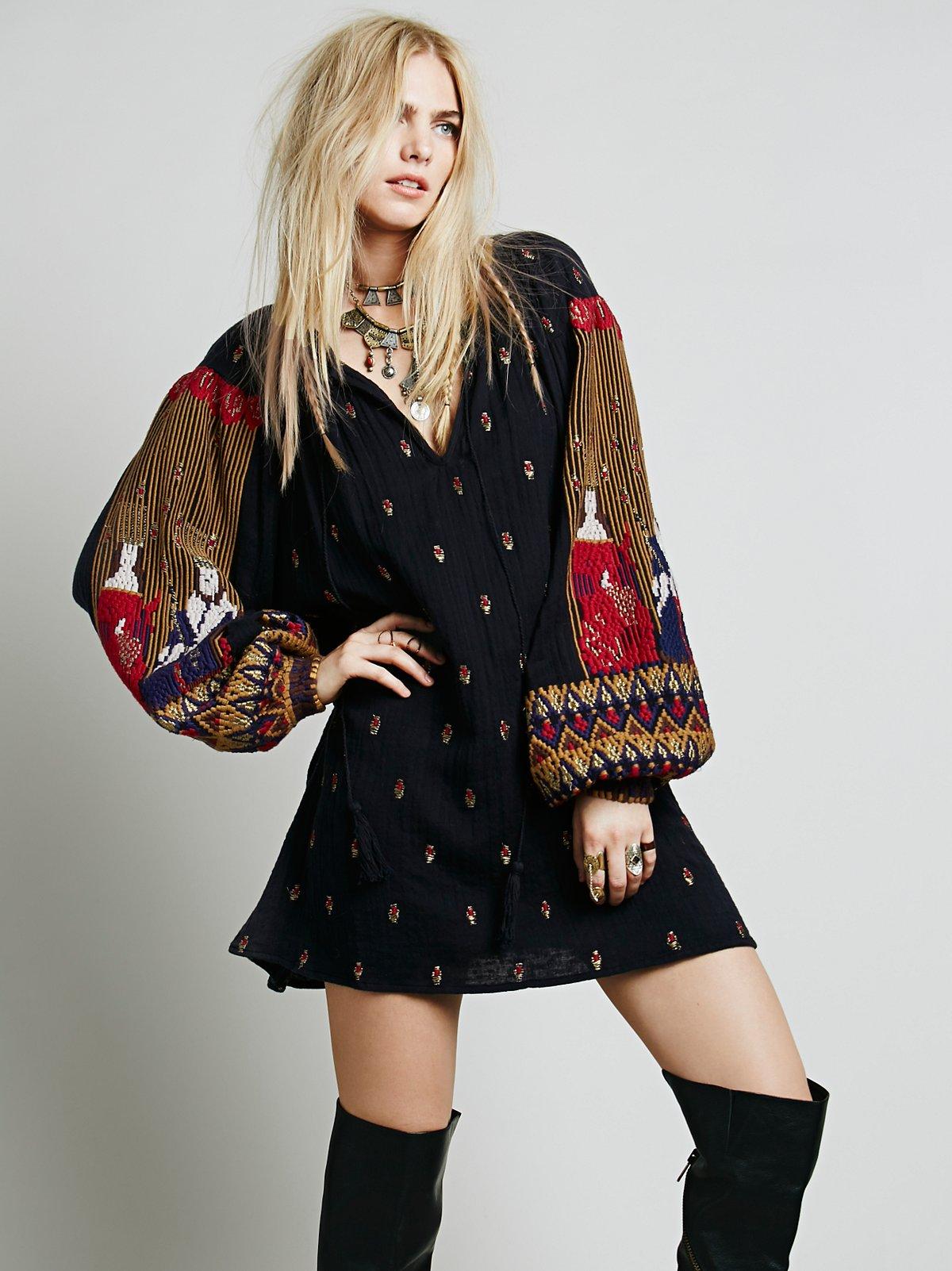 Kacy Embroidered Dress