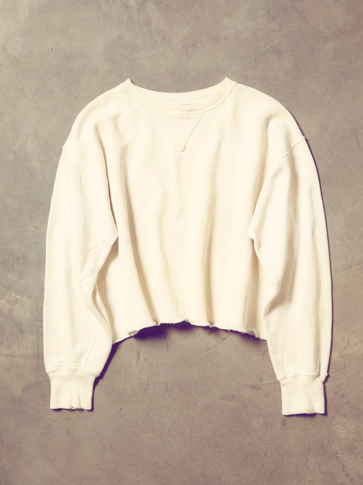 Vintage 1960s V-Neck Sweatshirt