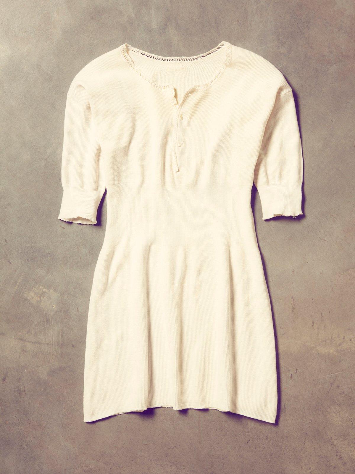 Vintage Knit Undershirt