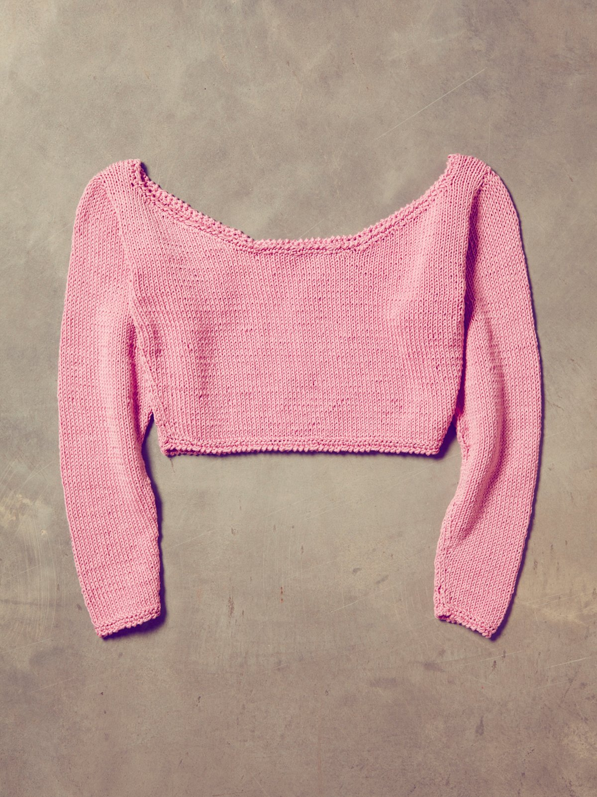 Vintage 1970s Handknit Dancer Sweater