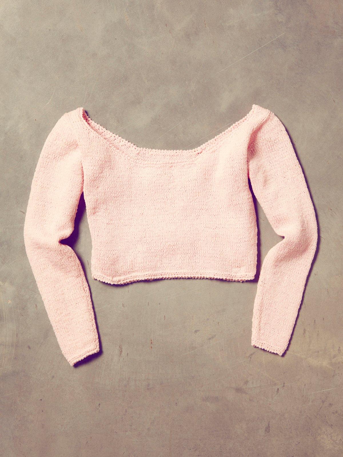 Vintage 1970s Handknit Dancer Sweater