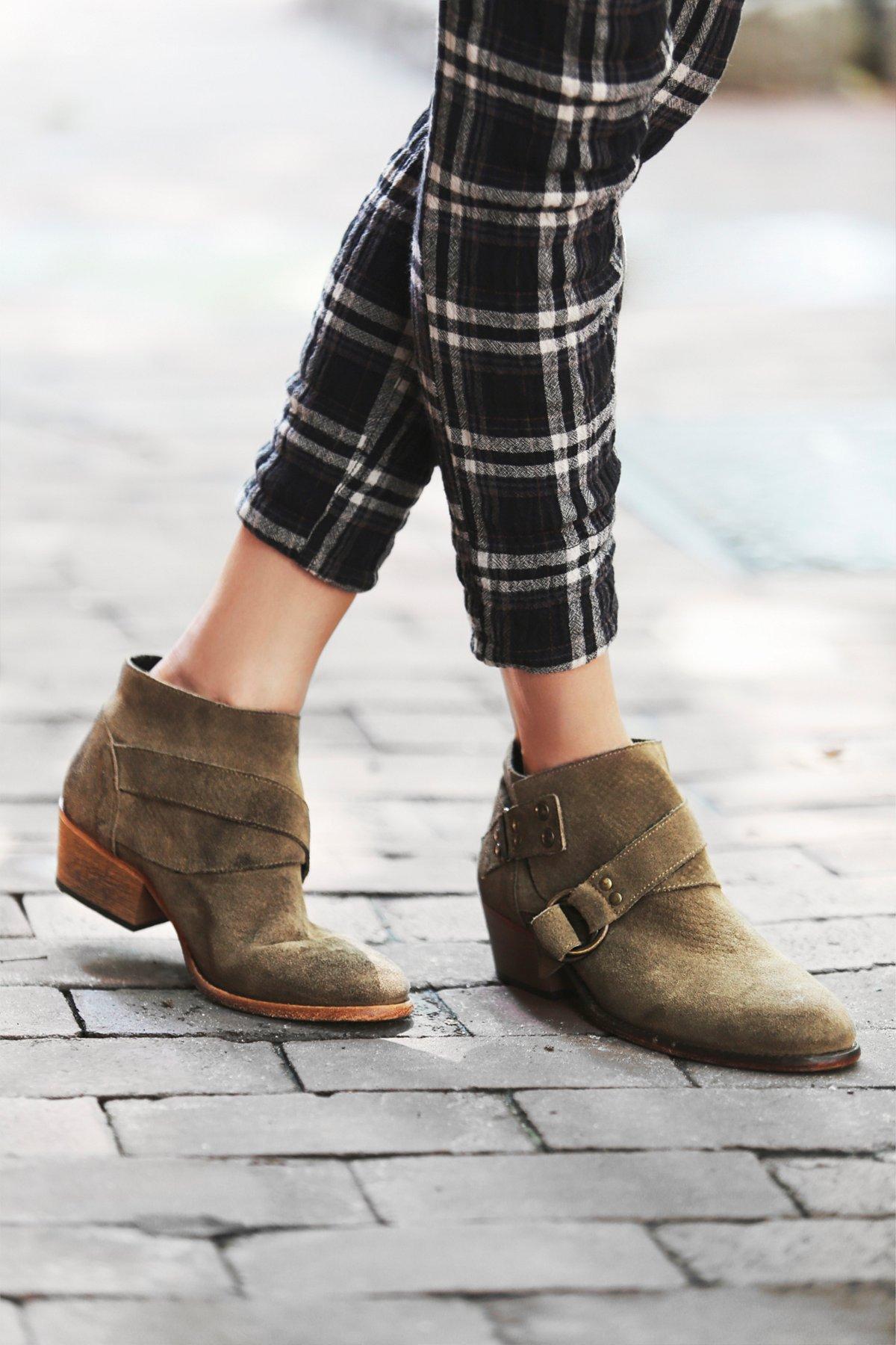 Tortuga及踝靴